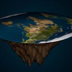 اگر زمین چپٹی ہوتی تو زمین کی سطح پر کشش ثقل کا زور مرکز میں سب سے زیادہ ہوتا