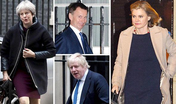 برطانیہ کی وزیر اعظم تھریسامے کی کابینہ میں ردوبدل کے دوران 5 وزرا اپنے عہدے برقرار رکھنے میں کامیاب رہے ہیں