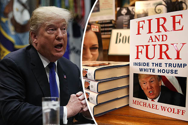 مائیکل وولف کی  تہلکہ انگیز کتاب ''فائر اینڈ فیوری''
