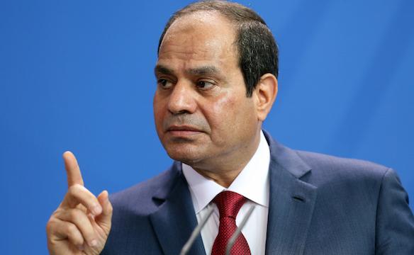 مصر کے صدر عبد الفتاح  السیسی