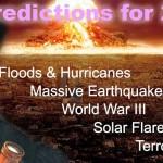 نوسٹرا ڈیمس کی 2018ء  میں تیسری عالمی جنگ اور قدرتی آفات کی پیش گوئیاں