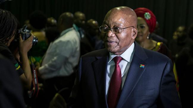 جنوبی افریقن صدر جیک زوما