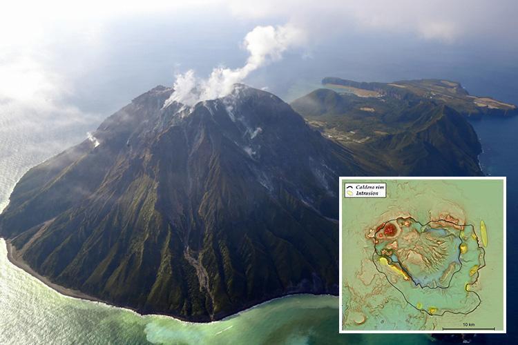 رپورٹ میں بتایا گیا ہے کہ یہ آتش فشاں 7300 سال قبل بھی پھٹا تھا