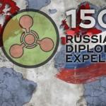امریکہ، اقوام متحدہ سمیت کئی یورپی ممالک نے 150 روسی سفارتکاروں کو ملک سے نکل جانے کا حکم دیا ہے