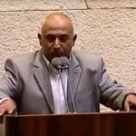 اسرائیل کی پارلیمنٹ میں آذان دینے والے  احمد الطیبی