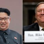 سی آئی اے کے سربراہ مائیک پومپیو اور شمالی کوریا کے رہنما کم جونگ ان