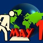 یوم مئی کا آغاز 1886ء میں محنت کشوں کی طرف سے 8 گھنٹے کے اوقات کار کے مطالبے سے ہوا