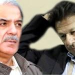 تحریک انصاف کے چیئرمین عمران خان اور پی ایم ایل ن کے صدر شہباز شریف