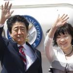 جاپان کے وزیر اعظم شنزو آبے،  صدر پیوٹن سے ملاقات کے لیے روس روانہ