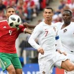 میچ کا واحد گول پرتگال کے اسٹار فٹبالر کرسٹیانو رونالڈو نے میچ کے چوتھے منٹ میں کیا