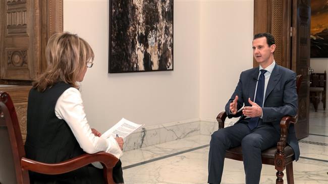شام کے صدر بشار الاسد نے برطانوی اخبار میل کو دیئے گئے اپنے ایک انٹرویو