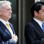 امریکی وزیر دفاع میٹس اور جاپان کے وزیر دفاع اتسونوری اونودیرا