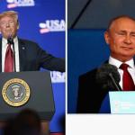 امریکی صدر ڈونلڈ ٹرمپ اور روسی صدر پیوٹن