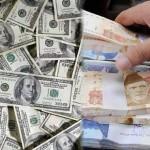 اوپن مارکیٹ میں بحرانی کیفیت کے سبب ایک موقع پر ڈالر کی قیمت 129.55 روپے کی بلند ترین سطح تک  پہنچ گئی