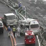 جاپان میں ''جونگ داری'' طوفان کی تباہ کاریاں جاری، مختلف واقعات میں 24 افراد زخمی ہو گئے