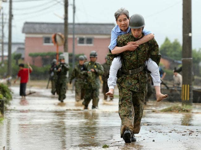 جاپان میں شدید بارشوں کے سبب ہونے والی ہلاکتوں کی تعداد 175 ہو گئی