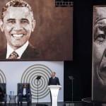 نیلسن منڈیلا کی صد سالہ سالگرہ کی تقریب، اوباما کا خراج عقیدت