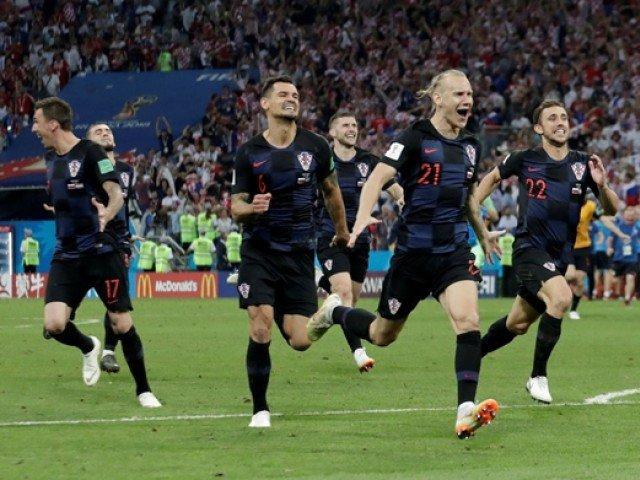 کروشیا نے انگلینڈ کو شکست دے کر پہلی بار ورلڈ کپ کے فائنل پہنچ گیا