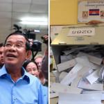 کمبوڈیا میں وزیر اعظم ہن سین کی جماعت نے عام انتخابات میں تمام 125 نشستوں پر کامیابی کا دعوی کیا ہے