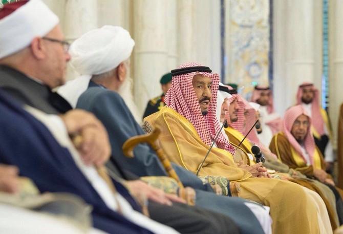 کانفرنس میں شریک اسلامی اسکالروں اور علما کے ایک وفد نے جدہ میں King Salman bin Abdulaziz سے بھی ملاقات کی ہے