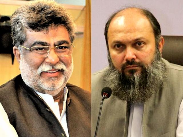 بلوچستان کے نامزد وزیر اعلیٰ جام کمال اور یار محمد رند