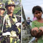 گزشتہ سال میانمار فوج کی جانب سے روہنگیا مسلمانوں پر سخت مظالم کئے گئے