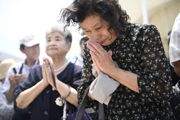 ناگاساکی میں ایٹم بم گرائے جانے کو 73 سال