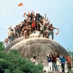 ایودھیا میں 6 دسمبر 1992ء کو ہندو جنونیوں نے بابری مسجد کو شہید کر دیا تھا
