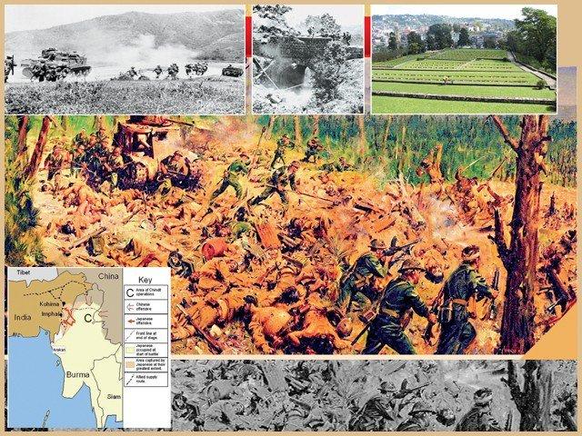 کوہیما کی جنگ: ہندوستان میں جاپانیوں کی  پیشرفت