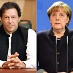 انتخابات میں کامیابی  پر جرمن چانسلر انجیلا مرکل نے عمران خان کو فون کر کے انہیں وزیر اعظم منتخب ہونے پر مبارکباد پیش دی تھی