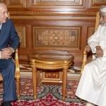 عمان کے سلطان قابوس اور صیہونی وزیر اعظم بنیامن نتن یاہو
