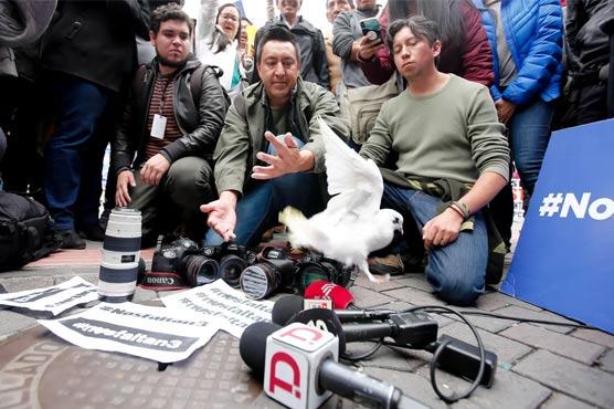 اب تک کے اعداد و شمار کے مطابق اس سال دنیا بھر 80 صحافی ہلاک ہوئے