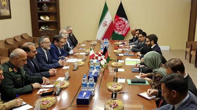 کابل میں ایران اور افغانستان کے اعلی سیکورٹی عہدیداروں کی ملاقات