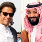 سعودی ولی عہد محمد بن سلمان اور پاکستان کے وزیر اعظم عمران خان
