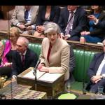 برطانوی پارلیمنٹ میں بریگزٹ معاہدے کے حق میں 286 جبکہ مخالفت میں 344 ووٹ دیے گئے