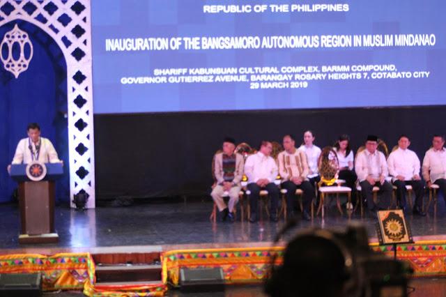 فلپائن میں خودمختار مسلم علاقے منڈانا (بیرم) کوٹابا شہر کا افتتاح