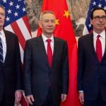 تجارتی مذاکرات میں امریکا کی جانب سے تجارتی ترجمان روبرٹ لائٹزر اور سیکریٹری خزانہ اسٹیون مینیچ جبکہ چین کی ترجمانی نائب وزیراعظم لیوہی نے کی