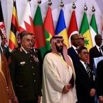 عرب نیٹو میں بحرین، کویت، عمان، سعودی عرب، متحدہ عرب امارات، یمن اور مصر کی فوجیں شامل تھیں