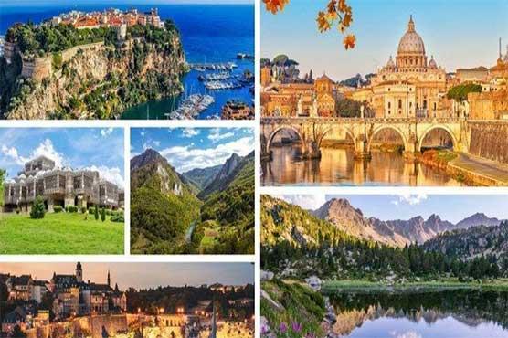 یورپ کا رقبہ ایک کروڑ ایک لاکھ 80 ہزار مربع کلومیٹر ہے