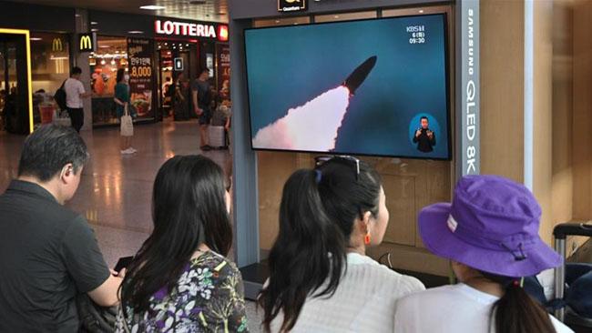 شمالی کوریا کا 2 ہفتے میں چوتھا میزائل تجربہ