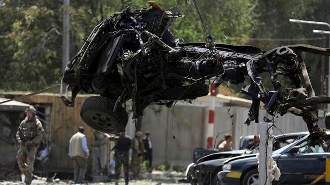 افغانستان میں موجود امریکی سفارت خانے پر راکٹ فائر کیا گیا