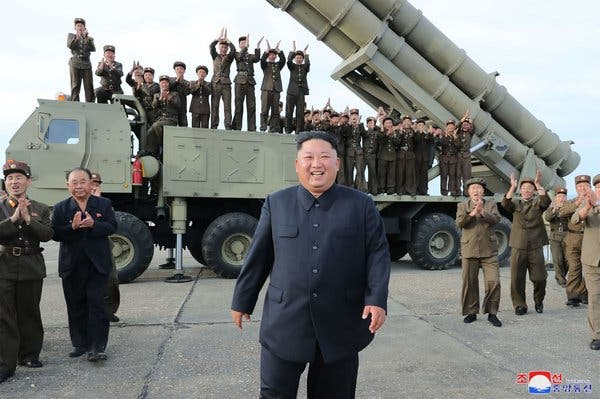 شمالی کوریا کا مئی سے لے کر اب تک 10واں میزائل تجربہ ہے