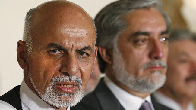 افغانستان صدارتی امیدوار  اشرف غنی اور  عبداللہ عبداللہ