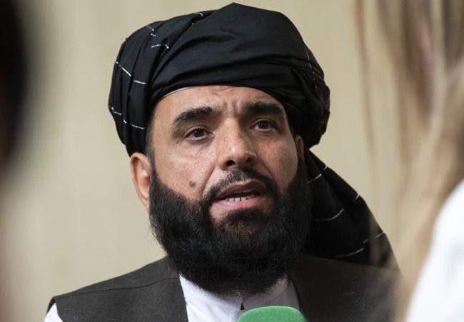 افغان طالبان کے قطر آفس کے ترجمان سہیل شاہین
