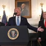 صدر ٹرمپ نے کہا کہ امریکا مشرقی وسطی کی خون آلود مٹی کو چھوڑ دے گا