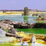 ایتھوپیا کا ڈیلول نامی میدانی علاقہ اتنا گرم مقام ہے جہاں جراثیمی زندگی بھی موجود نہیں