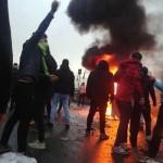 ایران میں حکومت کے خلاف احتجاج کے دوران 150 ہلاکتیں