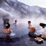 قدرتی طور پر گرم پانی والے تالاب جنھیں جاپانی زبان میں آنسین کہا جاتا ہے