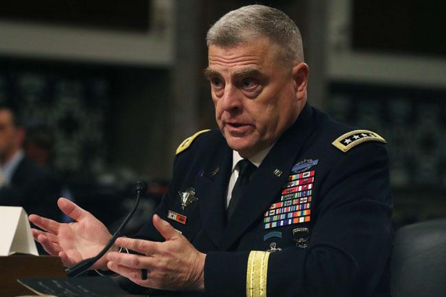 امریکی فوج کے سربراہ جنرل مارک ملے