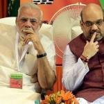 بھارت کے وزیر اعظم نریندر مودی اور وزیر داخلہ امیت شاہ